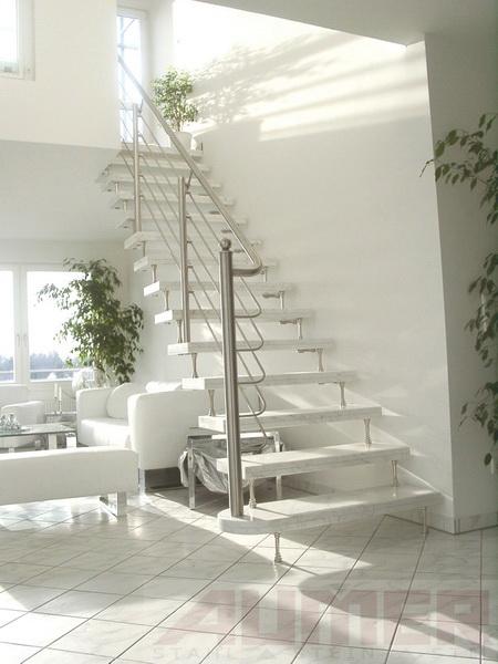 aumer treppen stahl stein stil. Black Bedroom Furniture Sets. Home Design Ideas